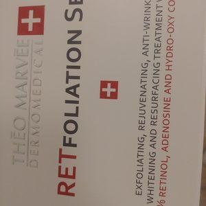Twój Kosmetolog Aleksandra Wawro -Stalowe Magnolie Beauty Clinic Wawro&Chudzik - Retinol- retfoliation set Theo Marvee