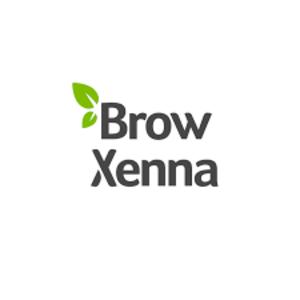 Femi Sfera - Brow Henna - henna pudrowa brwi z rysunkiem geometrycznym