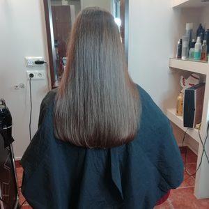Salon Fryzjerski Problem z Głowy -  (Thermocut)+regeneracja (Strzyżenie Gorącymi nożyczkami)