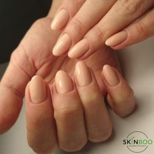 Skinboo - Manicure z malowaniem hybrydowym