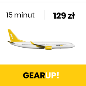 GearUP! Symulator lotu B737 - LOT 15 minut