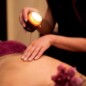 Relax in SPA  - Masaż gorącą świecą dla Dwojga (usługa z dojazdem)