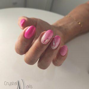 Crystal Nails - Uzupełnienie żelowe