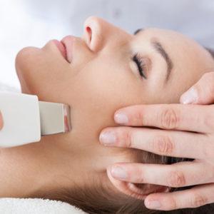 ESTETI-MED - Peeling kawitacyjny z ultradźwiękowym nawilżaniem oraz maską